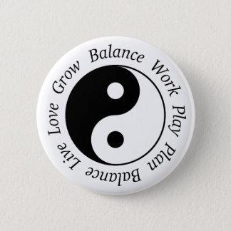 Balance Yin Yang Button