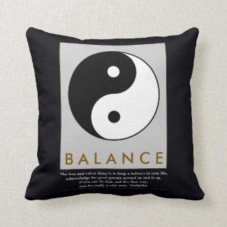 balance zen yin yang cushions