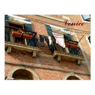 Balconies Postcard