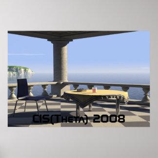balcony, CIS(Theta) 2008 Poster