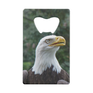 Bald Eagle credit card bottle opener