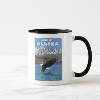 Bald Eagle Diving - Juneau, Alaska Mug