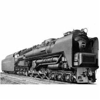 Baldwin Locomotive Works S-2 PRR Steam Turbine Standing Photo Sculpture