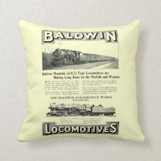 Baldwin Steam Locomotive Mountain Type in 1924 Cushion