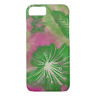 Bali Flower Batik Tropical iPhone 7 Case