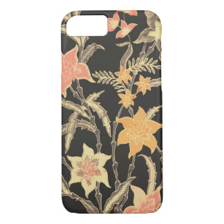 Bali Flowers Batik iPhone 8/7 Case