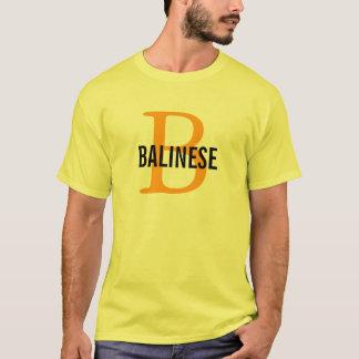 Balinese Breed Monogram T-Shirt