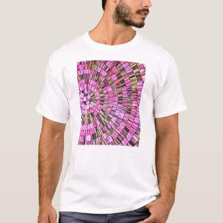 Balinese Glass Tile Art - Pink T-Shirt