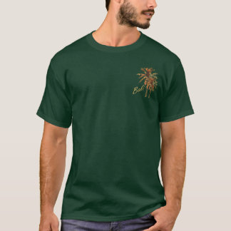 Balinese Patchwork Palm Trees T-Shirt