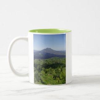 Balinese Volcano Two-Tone Coffee Mug