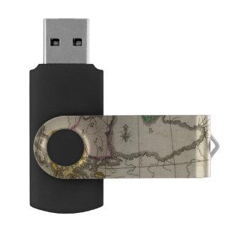 Balkan Peninsula 3 Swivel USB 2.0 Flash Drive