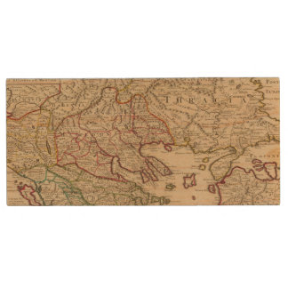 Balkan Peninsula, Greece, Macedonia 3 Wood USB 2.0 Flash Drive
