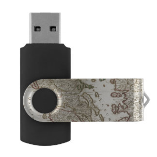 Balkan Peninsula, Greece, Macedonia Swivel USB 2.0 Flash Drive