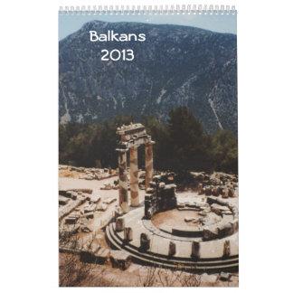 Balkans 2013 calendar