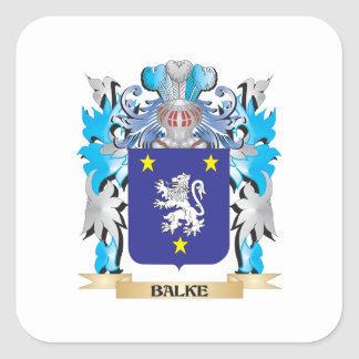 Balke Coat of Arms Stickers