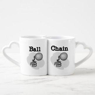 Ball and Chain Lovers Mugs