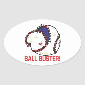 Ball Buster Stickers