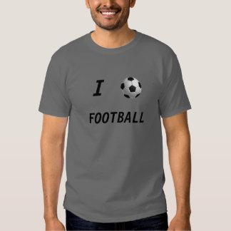 ball, I, FOOTBALL, SOCCER, Tee Shirts