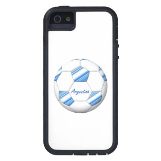 Ball of ARGENTINA SOCCER of national team 2014 Tough Xtreme iPhone 5 Case