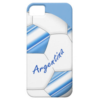 Ball of SOCCER of ARGENTINA national flag 2014 Barely There iPhone 5 Case