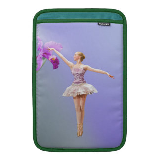 Ballerina and Orchid Sleeve For MacBook Air