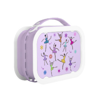 Ballerina Dance Personalised Name Lunch Box