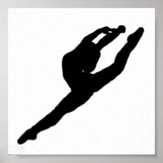 Ballerina Dancer Poster
