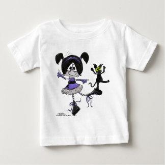 Ballerina Goth Style Baby T-Shirt