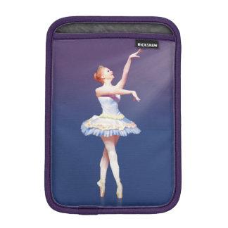 Ballerina On Pointe in Spotlight iPad Mini Sleeve