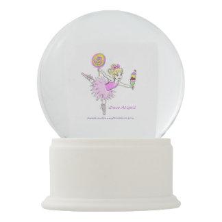 Ballerina snow globe be customized with name snow globes