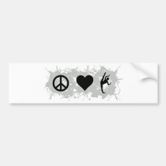 Ballet 3 bumper sticker