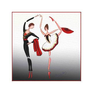 BALLET DON QUIXOTE, KITRI BALLERINA DANCERS CANVAS