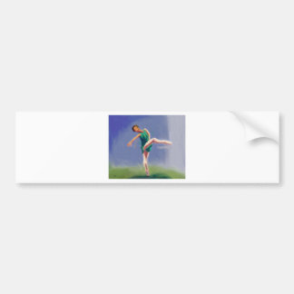 Ballet Grace Bumper Sticker