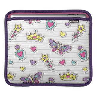 ballet princess pattern iPad sleeve