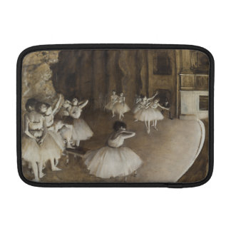 Ballet Rehearsal On Stage by Edgar Degas Sleeve For MacBook Air