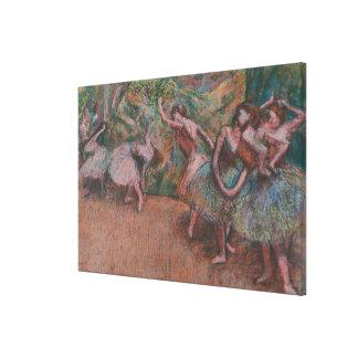 Ballet Scene Canvas Print