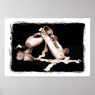Ballet Shoes Print
