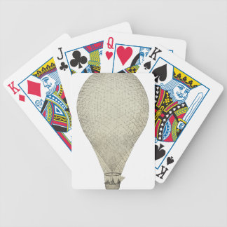 Balloon_Charles_Green_1836 Bicycle Playing Cards