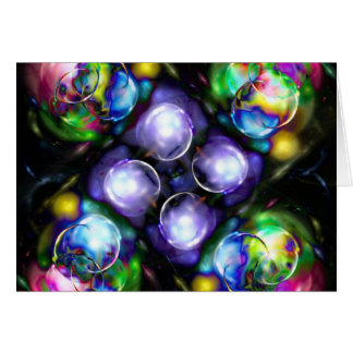 Balls of Fire Greeting Card