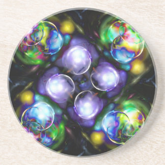 Balls of Fire Beverage Coasters