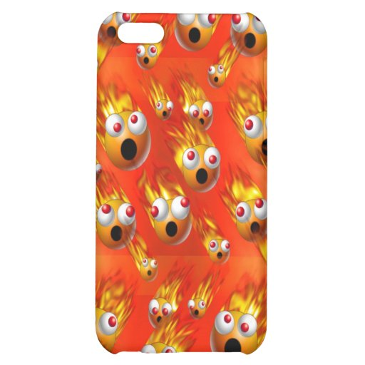 balls of fire cover for iPhone 5C
