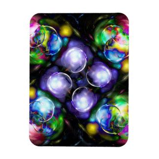 Balls of Fire Vinyl Magnet