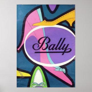 Bally Poster