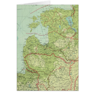 Baltic States & East Prussia Card