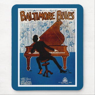 Baltimore Blues Mouse Pad
