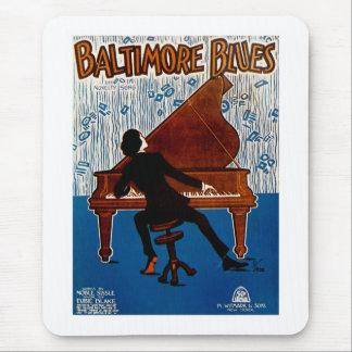 Baltimore Blues Mouse Pad