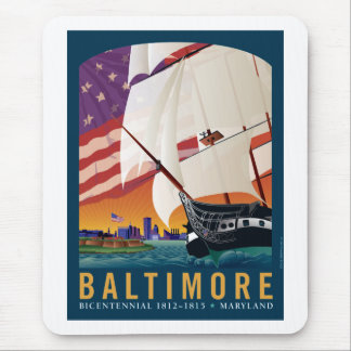 Baltimore: By the Dawn's Early Light Mouse Pad