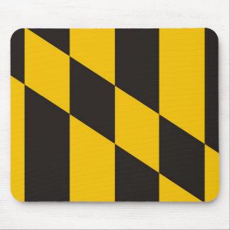 baltimore city maryland usa country flag mouse pad