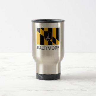 Baltimore Flag Travel Mug