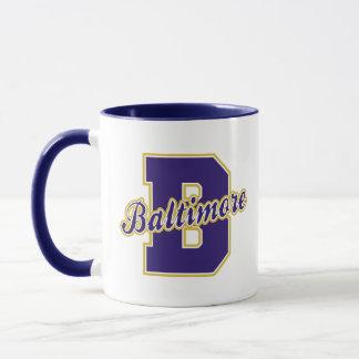 Baltimore Letter Mug
